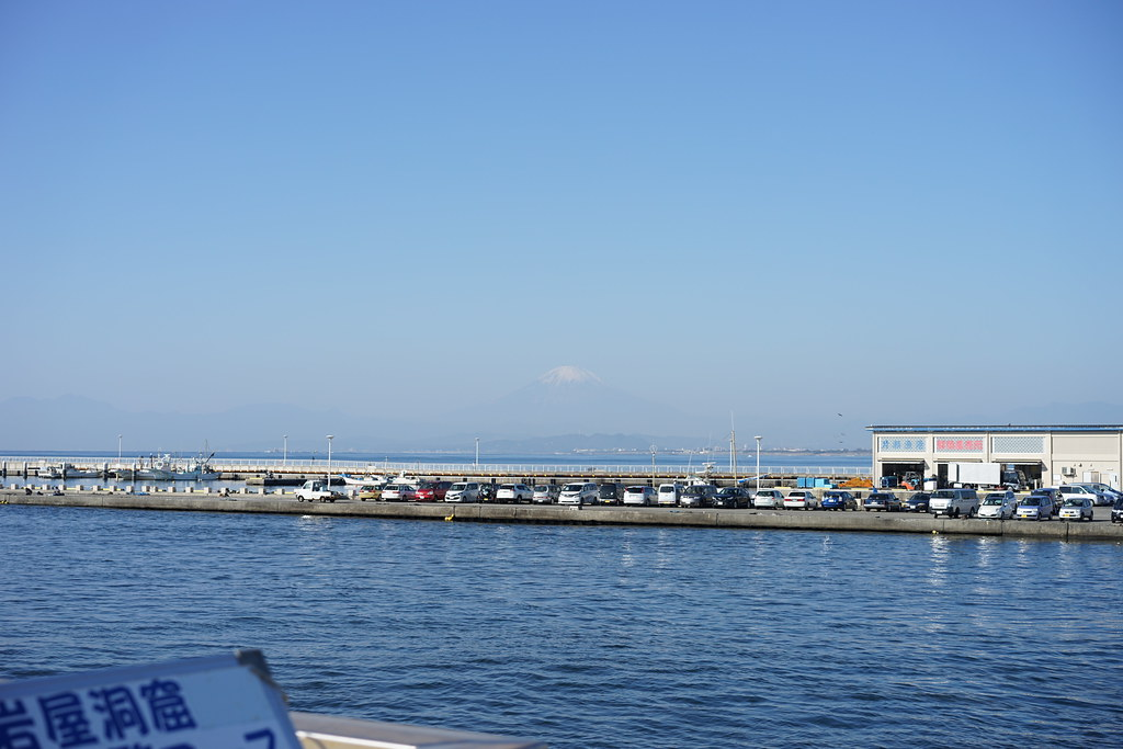 江ノ島大橋からの富士山2