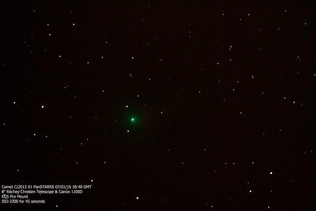 Comet C/2013 X1 PanSTARRS 07/01/16