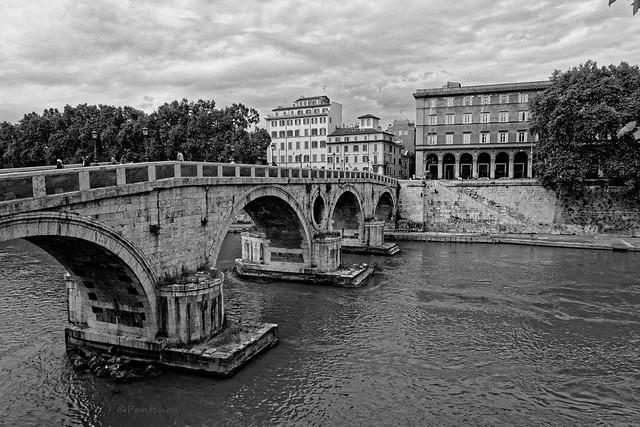 Rome : Ponte Sisto / Fiume Tevere