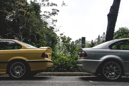 ///M3: E36 x E46 | by Justin Young Photography