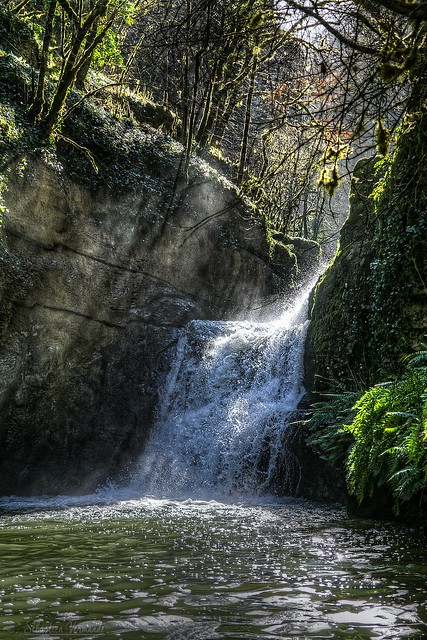 Waterfall of Alzou - Casccade de l'Alzou
