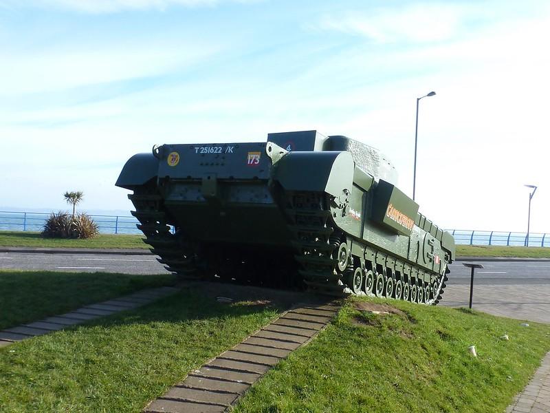 Churchill MK VII Tank