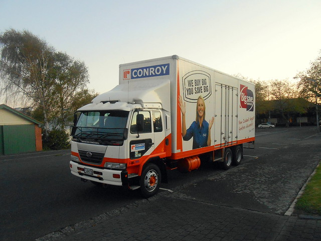 Conroy Removals Nissan Diesel PK260