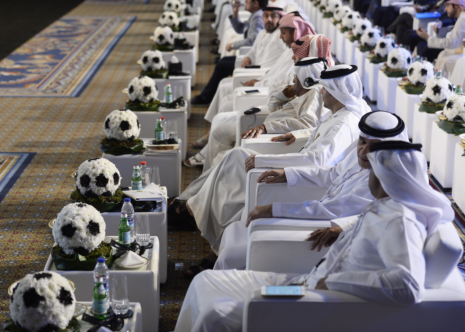 "Cerimonia inaugurale ""Dubai International Sport Conference"""