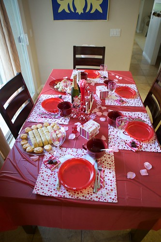 Valentine's Dinner Table | by Emmymom2
