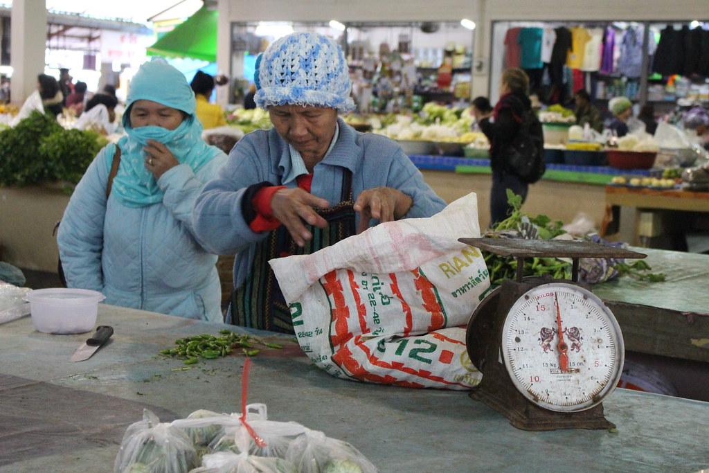 Thaise markt