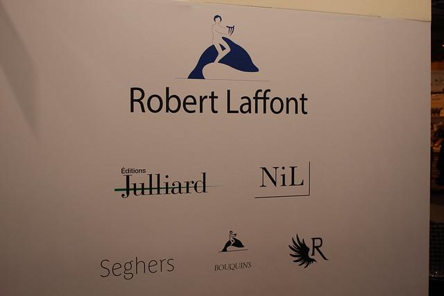Robert Laffont : Julliard, NiL, Seghers, Bouquins, R - Livre Paris 2016
