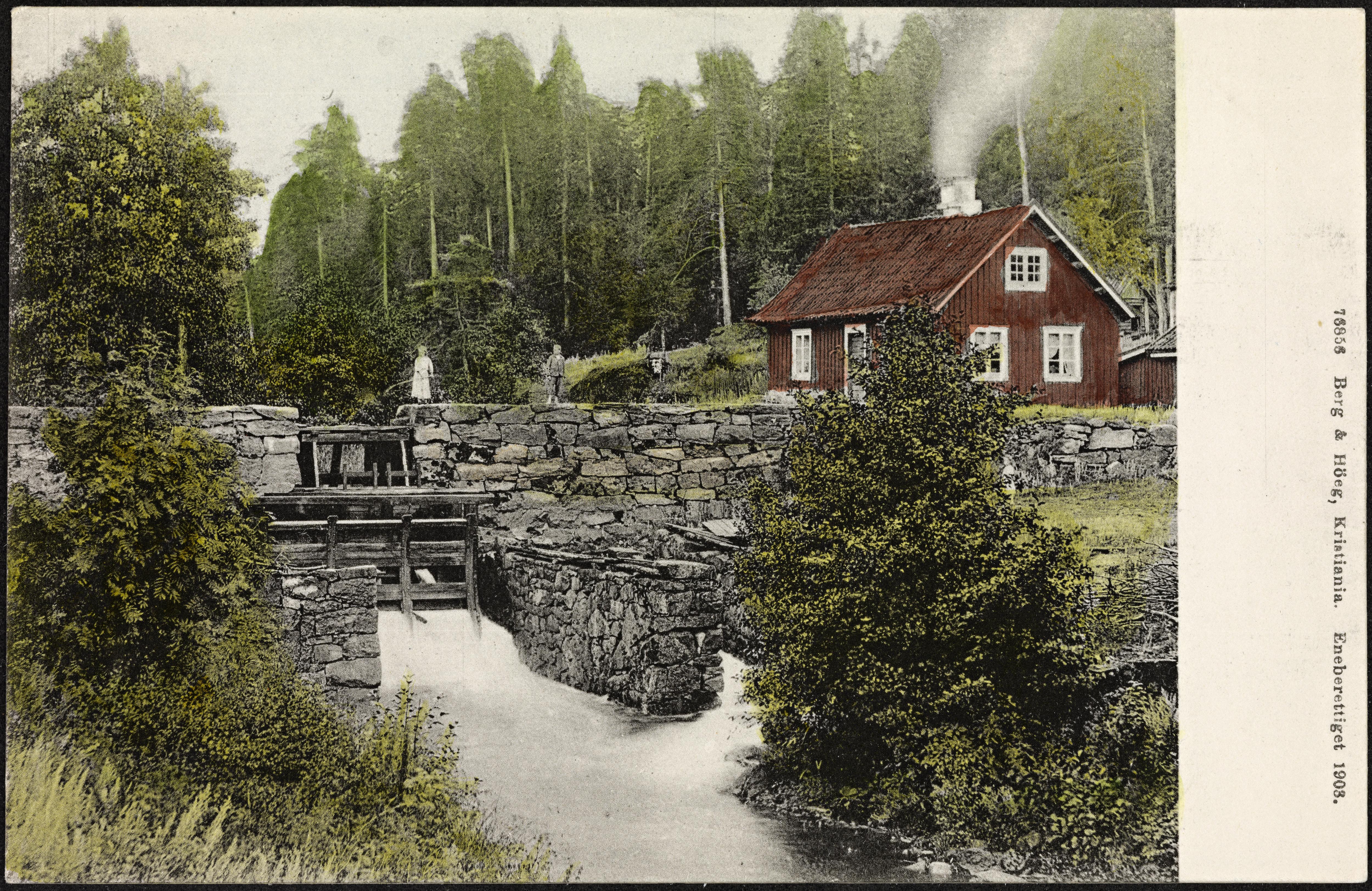 76856 Øvremølla ved Falkensten Bruk
