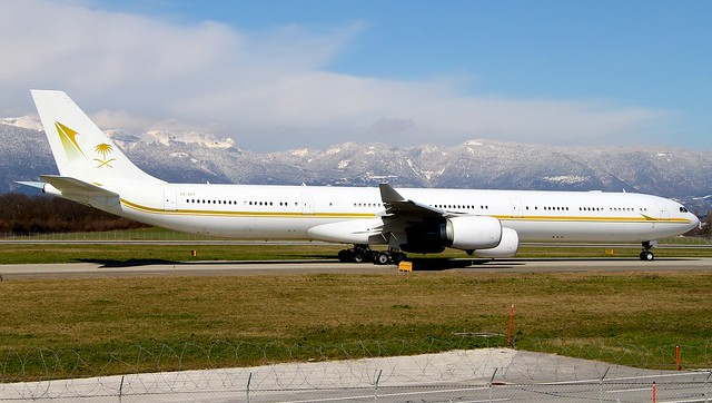 Sky Prime Aviation. HZ-SKY. Airbus A340-642