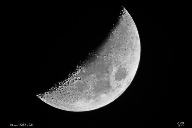 Lune croissante 14 mars 2016