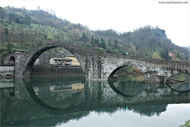 Ponte del Diavolo, Borgo a Mozzano