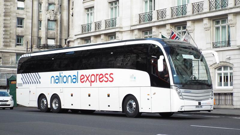 National Express - BX16CHG - Park Lane - 28 March 2016