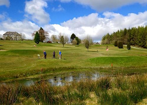 golf newmarket cork ireland irish scenery golfcourse pitchandputt sport lake waterfeature scenic iphone5 2016onephotoeachday weeklycolourchallenge