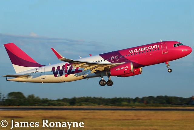 HA-LYG | Airbus A320-232 | Wizz Air
