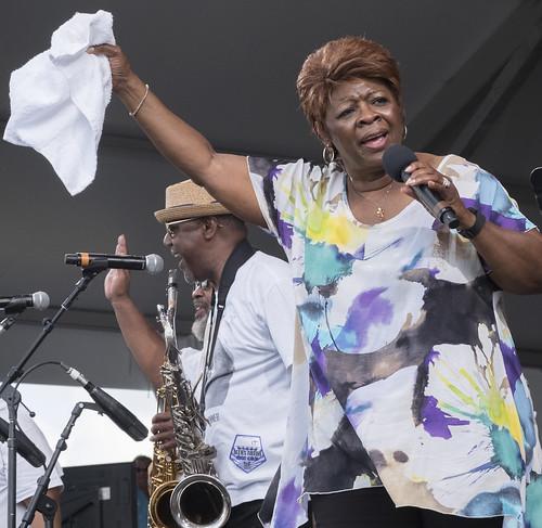 Irma Thomas performs at Jazz Fest 2016