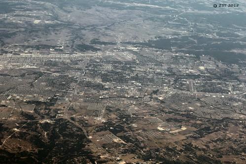 vacation texas flight aerialview aerial airline unitedairlines windowseat killeen forthood zeesstof phoenixtohouston