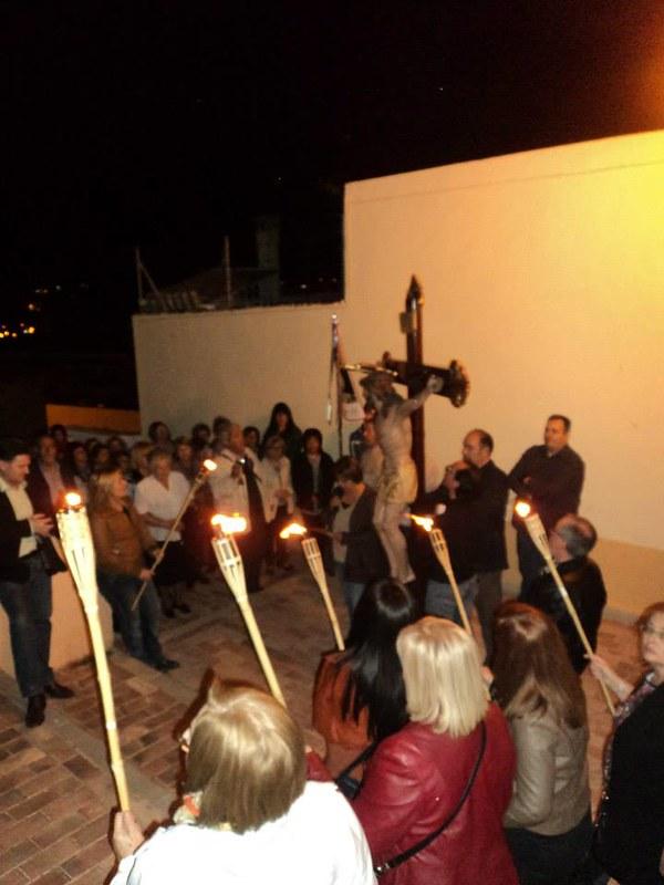 (2014-04-01) - V Vía Crucis nocturno -  Antonio Vázquez (16)