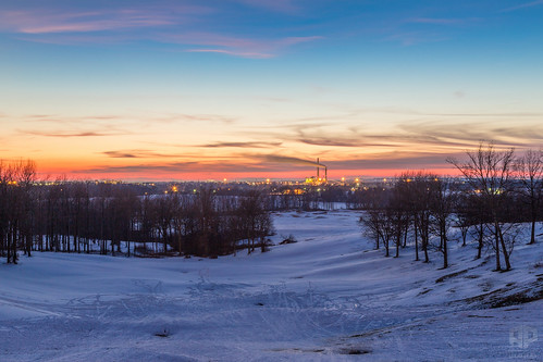 sunset usa snow snowy kentucky ky golfcourse summit omu daviesscounty pearlclub owensboromunicipalutilities