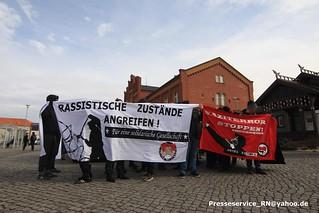 2016.03.05 Rathenow Antifa Demo Zivilgesellschaft Buergerbuendnis (1)