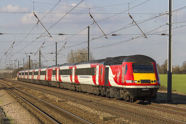 Virgin Trains East Coast Class 43 No. 43272 - Abbots Ripton