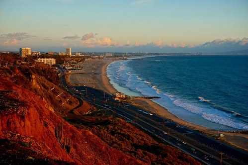 california sunset sky beach clouds santamonica pacificpalisades pw