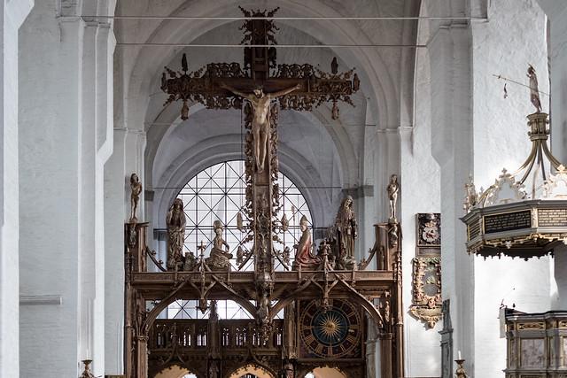 Lübeck: Dom, Triumphkreuz von Bernt Notke, 1477 - Rood by Bernt Notke, 1477