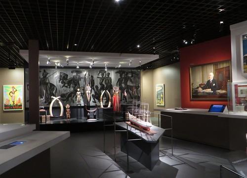"""Salles """"Bordeaux port colonial"""", Musée d'Aquitaine, cours Pasteur, Bordeaux, Gironde, Aquitaine, France."""