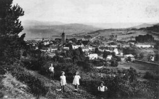 Enfants sur le Mont Orgier