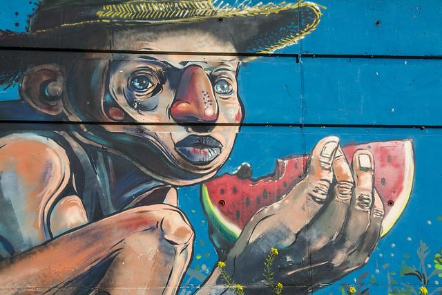 Graffitis de Granada 7.