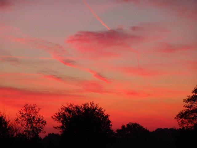 Sun rising in october 2011