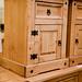 Waxed pine locker