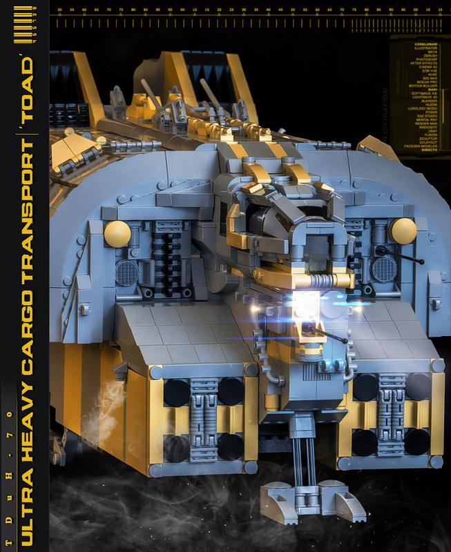 TDuH-70 'Toad' Ultra Heavy Cargo Transport