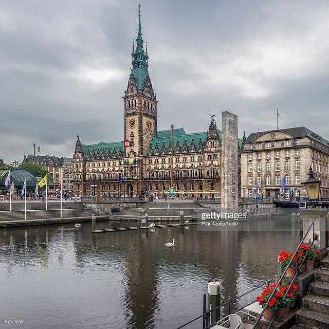 Hamburg Rathaus - Town hall - Ayuntamiento