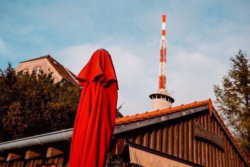 Kodachrome-Red Hood, Heidelberg, Germany