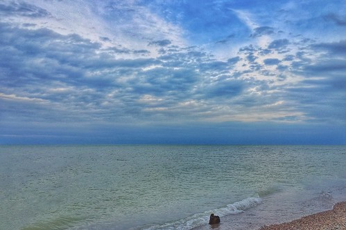 morning sky lake seascape beach apple nature clouds sunrise sand waves michigan great lakes scenic shore iphone expanse iphoneography