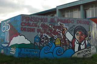 Mural in Castro, Chiloé, Chile | by blueskylimit