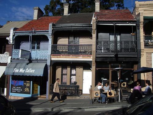 Terrace houses, Paddington, Sydney | by hiphazard