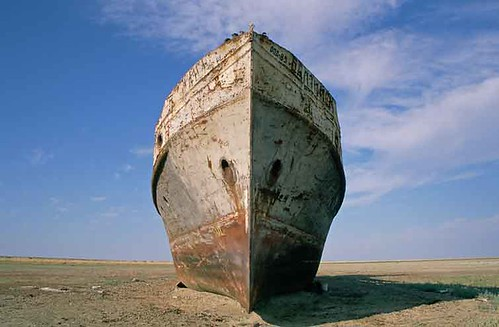 The Shipwreck of the Aral Sea | by Elena Senao