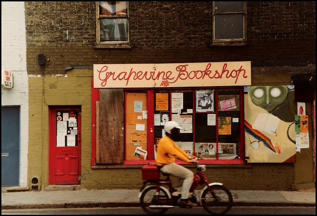 Cambridge 1982: Grapevine Bookshop