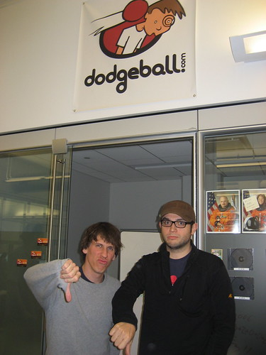 me + alex quit google.   (dodgeball forever!!!!) | by dpstyles™