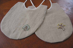 tree bibs   by SouleMama