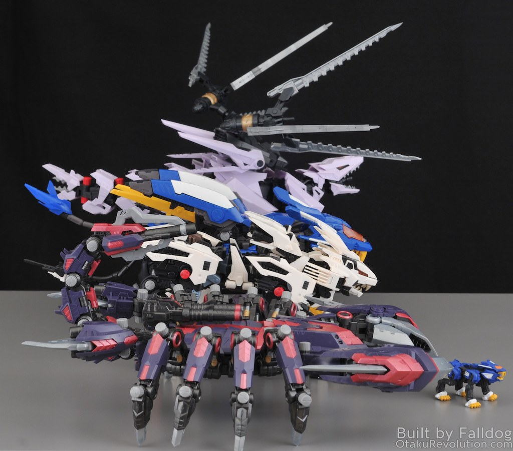 HMM Zoids - Death Stinger Review 2