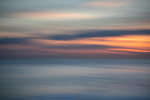 sunset sea seascape abstract evening dusk calm icm intentionalcameramovement lucyspiers