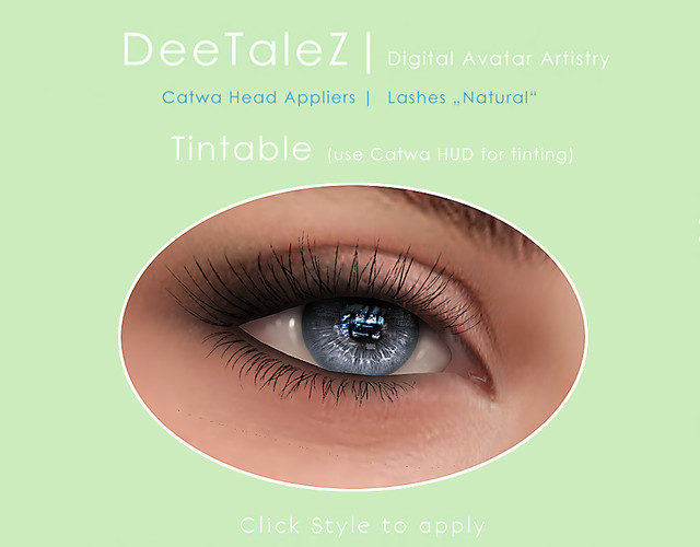 Natural Lashes tintable - FREE!