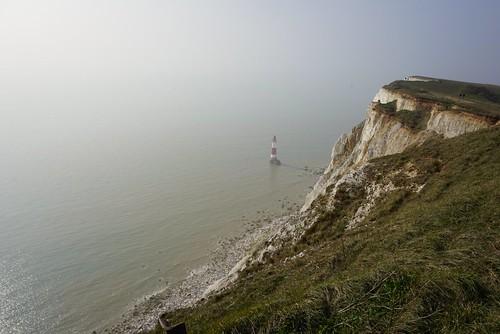 uk sea mist seaside cliffs eastbourne seafront beachyhead clifftop ukbeaches uklandmarks