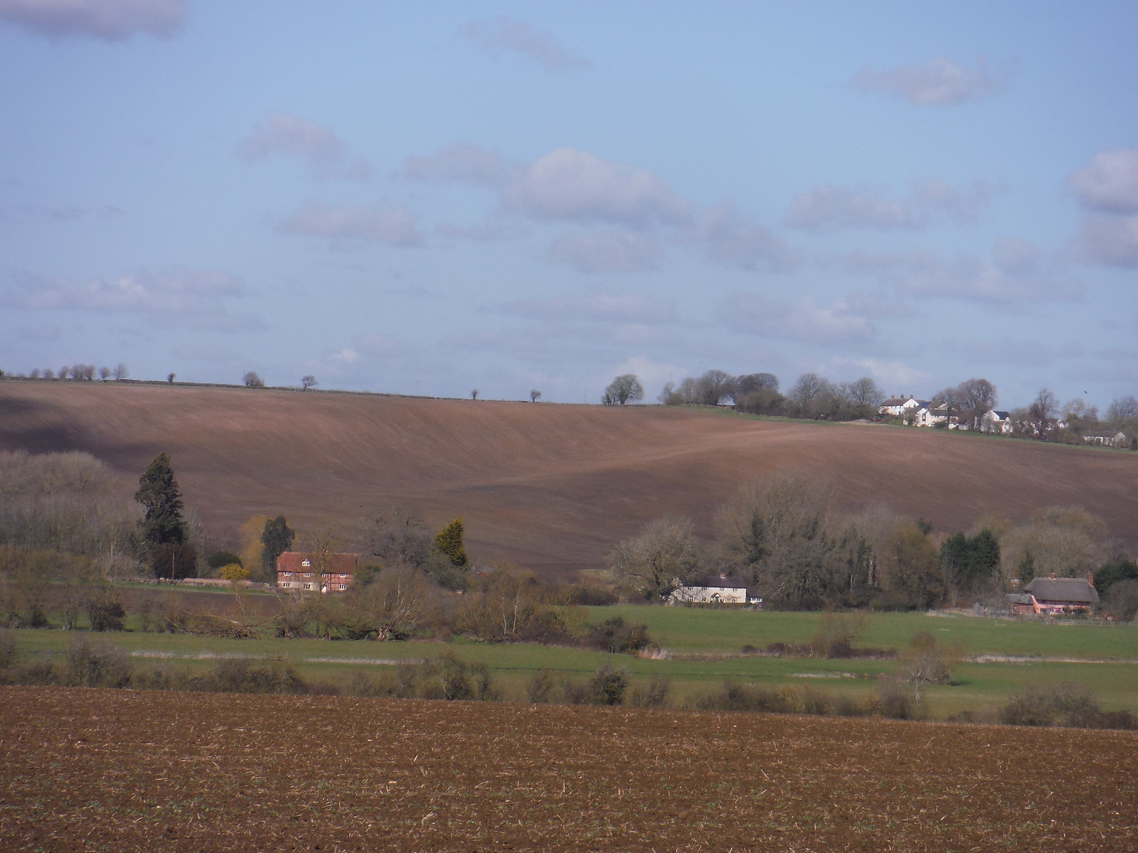 Upper Winchenden, from Thame Meadows SWC Walk 193 Haddenham to Aylesbury (via Gibraltar and Ford)