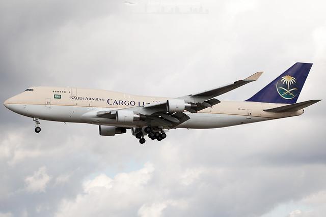 TF-AMI Saudi Arabian Airlines Cargo Boeing 747-400 BCF