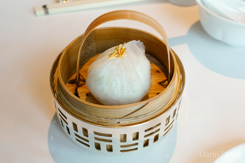 Steamed Shrimp and Crab Meat Dumplings with Egg White @ Lung King Heen