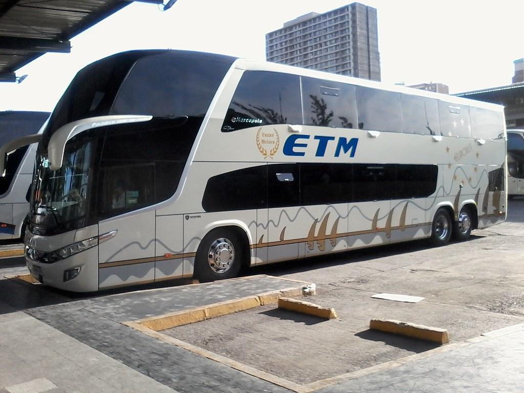 Buses ETM | Terminal Santiago | Marcopolo Paradiso 1800 DD G7 / HGWL26