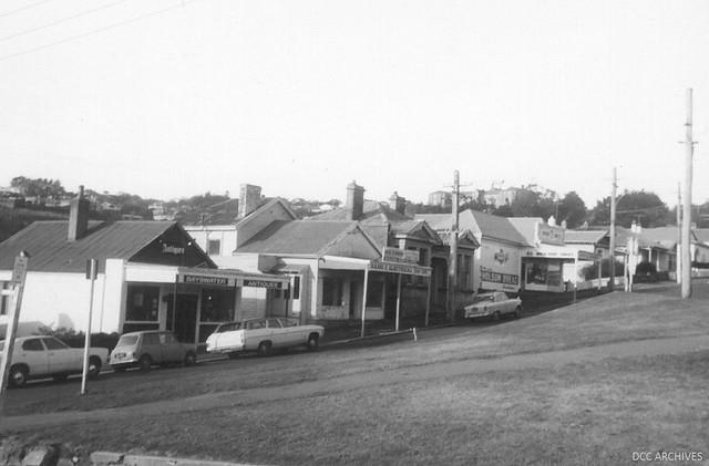 Shops at Silverton Street c1970s